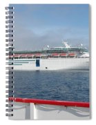 Tendered Ship Spiral Notebook
