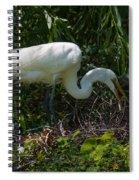 Tending The Nest Spiral Notebook