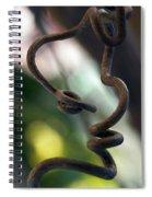 Tendrilisms Spiral Notebook