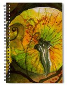 Tendrils Spiral Notebook