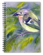 Tenerife Goldcrest Spiral Notebook