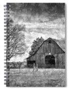 Tennessee Barn Spiral Notebook