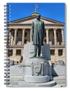 Tennessee Capitol Spiral Notebook