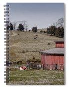 Tennessee Farmstead Spiral Notebook
