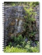 Tennessee Limestone Layer Deposits Spiral Notebook
