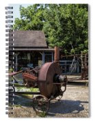 Tennessee Rusty Gold Spiral Notebook