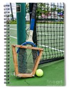 Tennis - Tennis Anyone Spiral Notebook