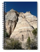 Tent Rocks 1 Spiral Notebook