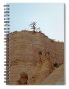 Tent Rocks 11 Spiral Notebook