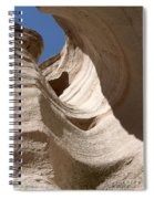 Tent Rocks Spiral Notebook