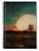 Tequila Sunrise Photo Art 03 Spiral Notebook