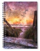 Tequilla Sunrise Spiral Notebook