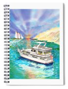 Terifico At Anchor Spiral Notebook