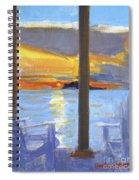 Terrace Sunset Spiral Notebook