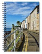 Terraced Cottages At Mousehole Spiral Notebook