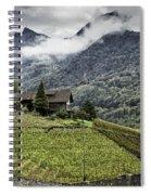 Terraced Vineyard Spiral Notebook