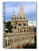 Terraces And Towers Of Fishermans Bastion Spiral Notebook