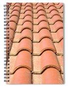Terracotta Tiles Spiral Notebook