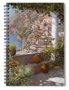 terrazza a Positano Spiral Notebook