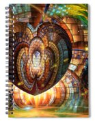 Tesserae Too Spiral Notebook