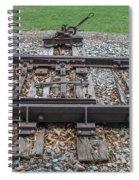 Switch Tracks Spiral Notebook