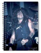 Testament - Chuck Billy Spiral Notebook