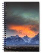 Teton Explosion Spiral Notebook