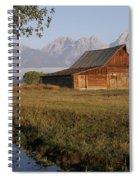 Teton Morning Magic Spiral Notebook