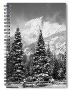 Tetons In Snow Spiral Notebook