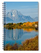 Tetons With Moose Spiral Notebook