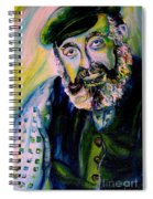 Tevye Fiddler On The Roof Spiral Notebook