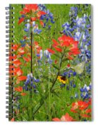 Texas Best Wildflowers Spiral Notebook