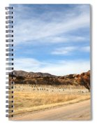 Texas Canyon In February Spiral Notebook