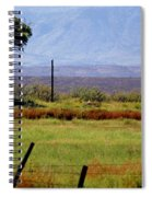 Texas Landscape 16095 Spiral Notebook
