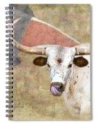 Texas Longhorn # 2 Spiral Notebook