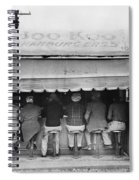 Texas Luncheonette, 1939 Spiral Notebook