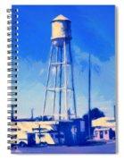 Texas Radio Spiral Notebook