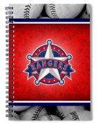 Texas Rangers Spiral Notebook