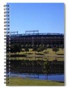 Texas Rangers Reflection Spiral Notebook