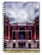 Texas Rangers Ballpark In Arlington Texas Spiral Notebook