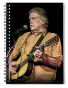Texas Singer Songwriter Guy Clark Spiral Notebook