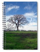 Texas Sky Spiral Notebook