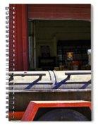 Texas Smoker Spiral Notebook
