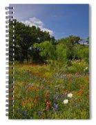 Texas Spring Spectacular Spiral Notebook