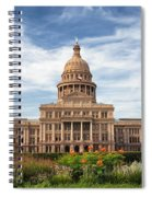 Texas State Capitol II Spiral Notebook