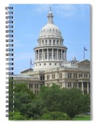 Texas State Capitol Spiral Notebook
