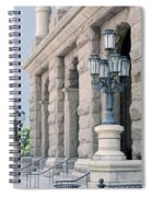Texas State Capitol North Portico Spiral Notebook