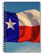 Texas State Flag - Texas Lone Star Flag Spiral Notebook