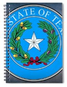 Texas State Seal Spiral Notebook