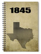 Texas Statehood 2 Spiral Notebook